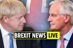 Brexit news live – Talks reach last 48 hours before deadline as EU chief mocks Boris Johnson with 'joker' cartoon