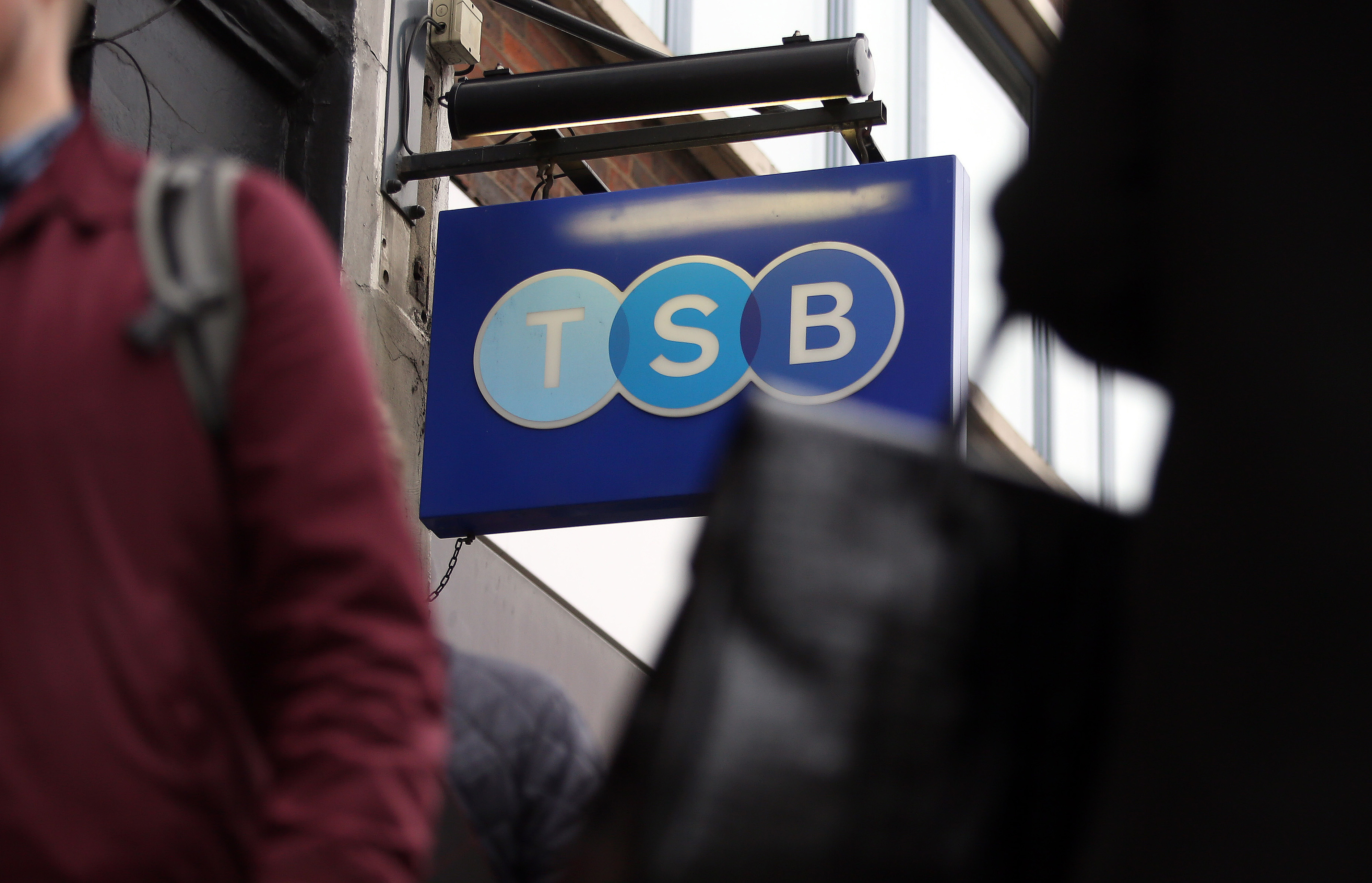 You can check TSB's service status on its website