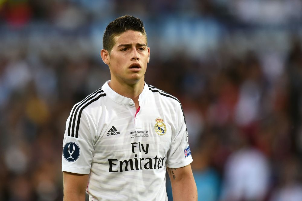 Everton are on the brink of announcing James Rodriguez