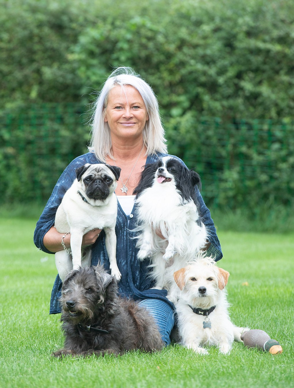 Julie's career, with credits such as Game Of Thrones, Harry Potter and 101 Dalmatians, is due to a Yorkshire Terrier rescued from a cruel puppy farm
