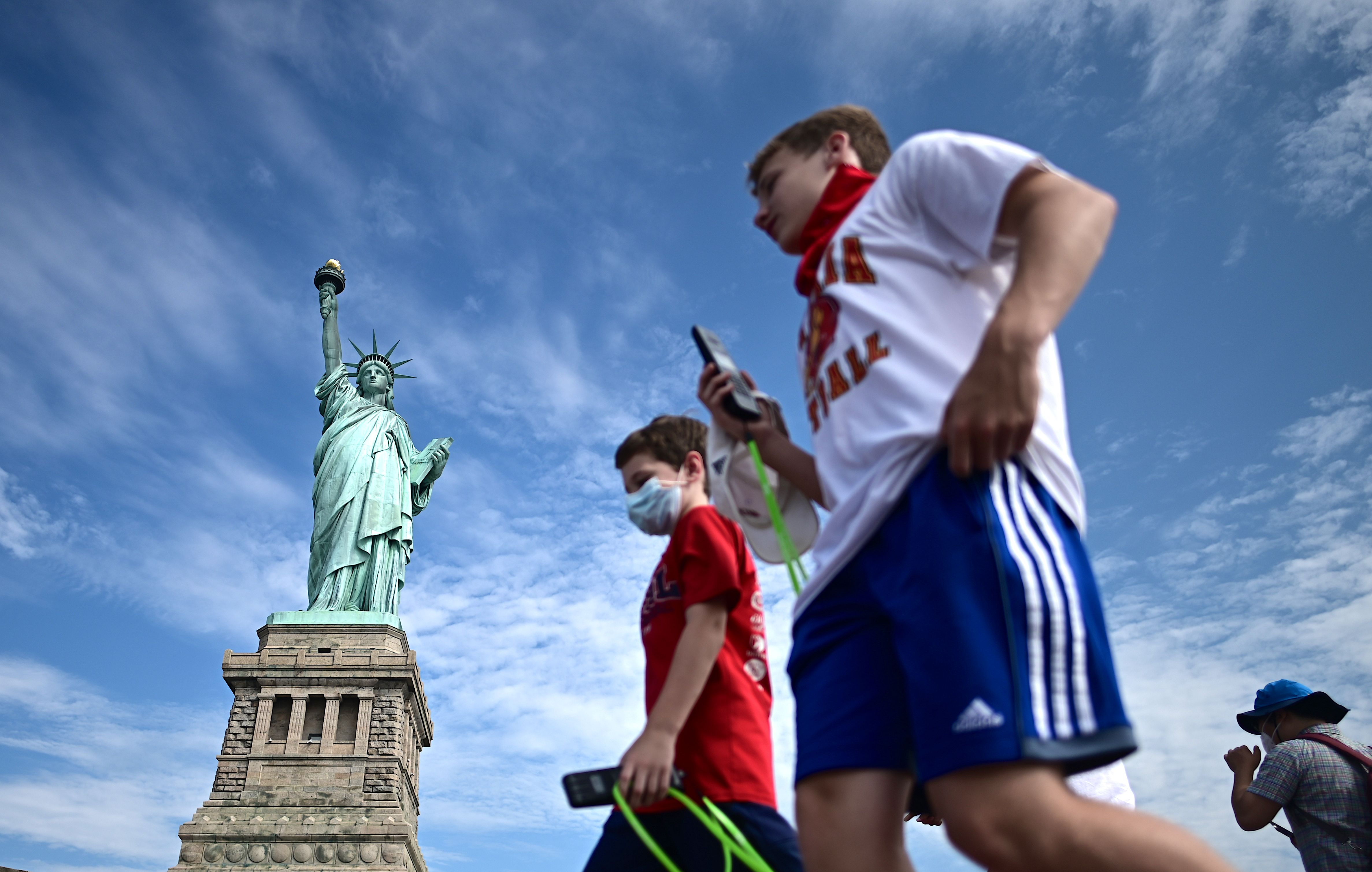 New York is a popular option with Brits, being less than seven hours by flight
