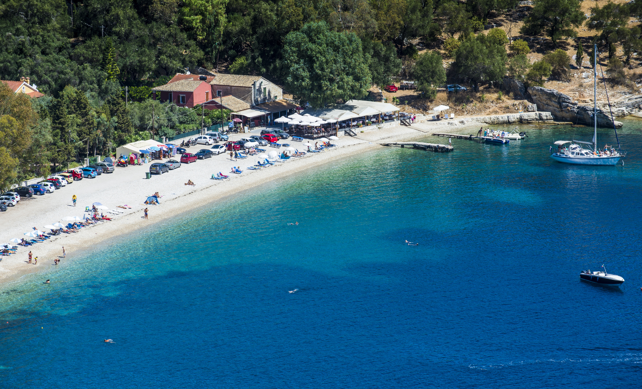 You can fly to the Greek island of Corfu for less than a tenner, and not have to quarantine