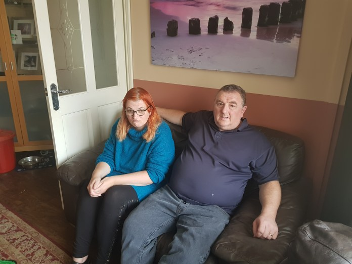 Alyson and her husband Antony has started a fundraiser to help her get new dentures