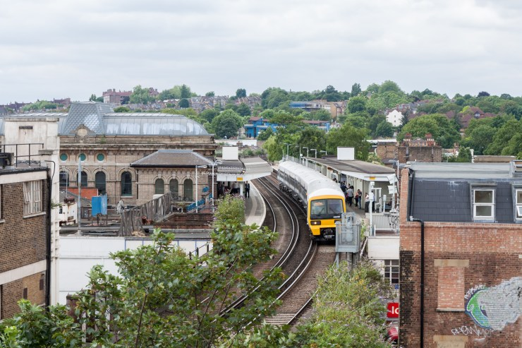 A mum became separated from her child at Peckham Rye station, South East London