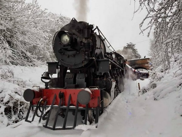 Take the kids on the Polar Express this Christmas with a magical train ride with Santa