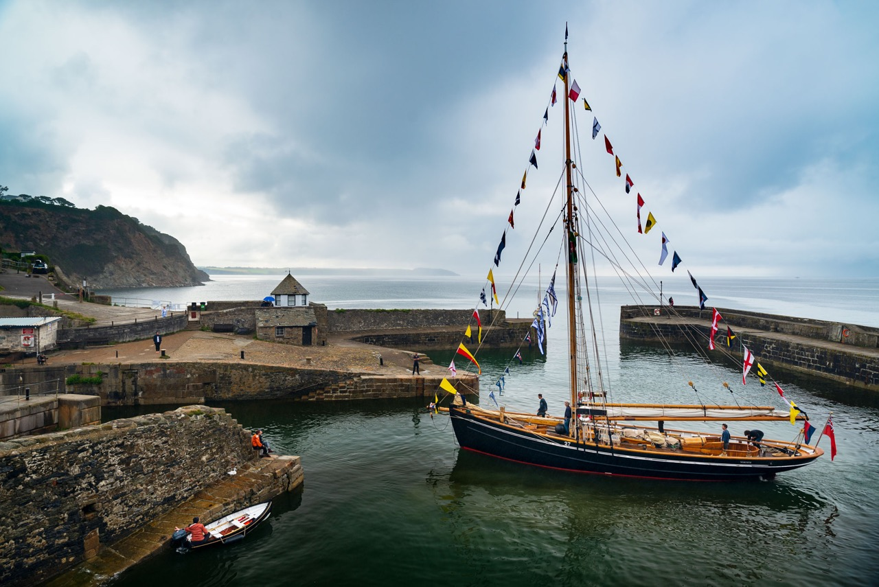 For something a bit different with a good cause, why not bed down on board a traditional wooden sailing boat in Cornwall?
