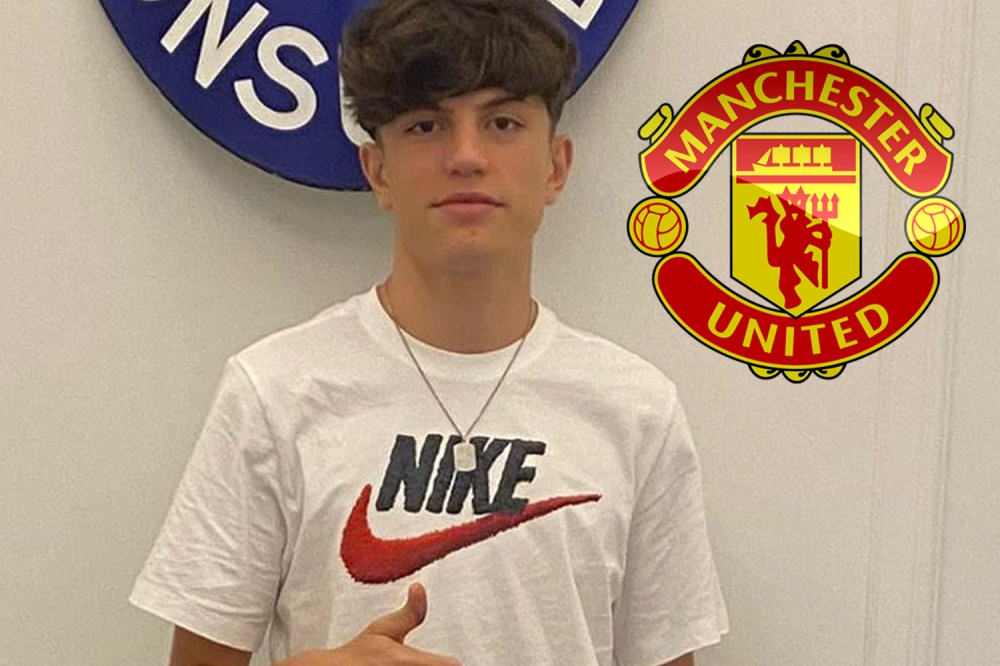 Man Utd snap up Atletico Madrid wonderkid Alejandro Garnacho, 16, on  five-year deal after beating Real to transfer