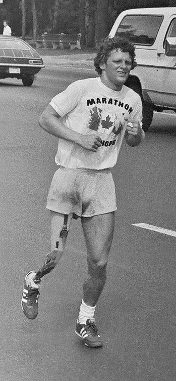 The Terry Fox Run has raised over $800 million for cancer research