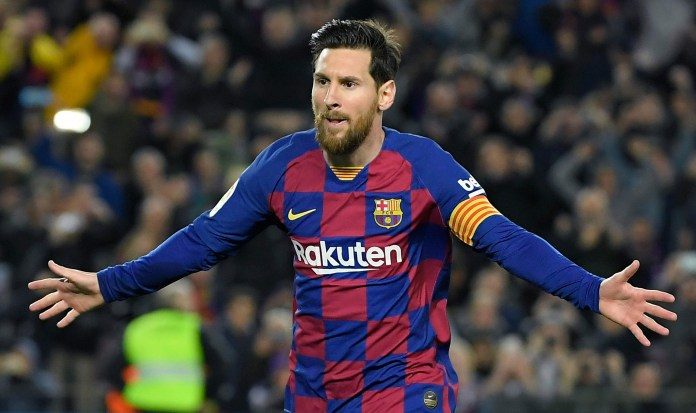 Barcelona icon Lionel Messi was left with little option but to stay until his contract runs out next summer