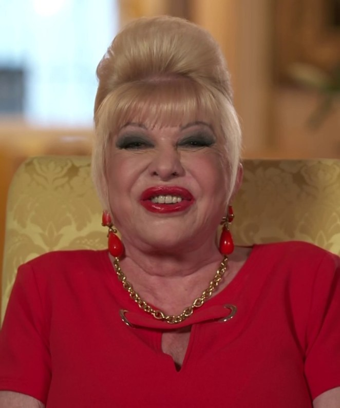 Ivana Trump made a bizarre appearance on Loose Women today