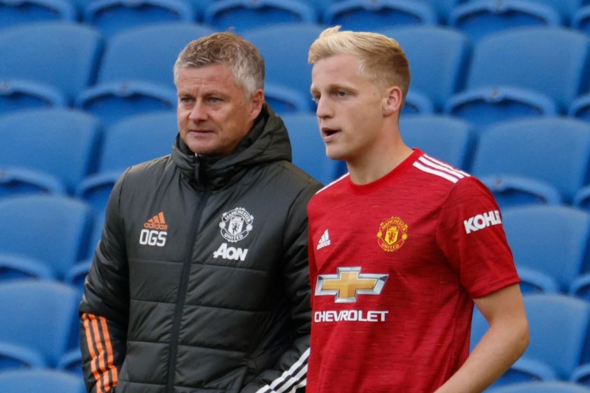 Solskjaer slams Man Utd fans for criticism over quiet transfer window saying it's 'disrespectful' to Donny van de Beek
