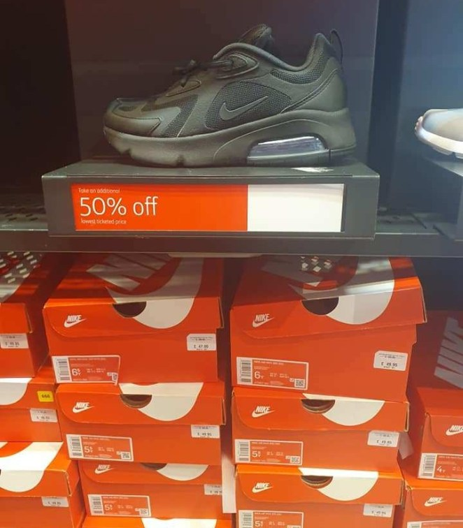 A shopper spotted thee Nike footwear on sale for just £25
