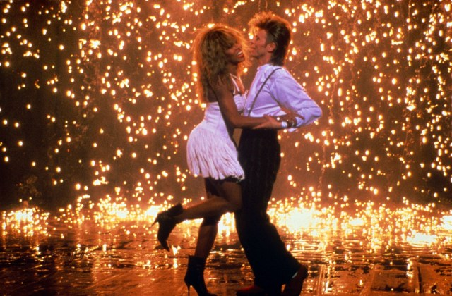 Tina Turner and David Bowie in the Pepsi Cola advert in 1987