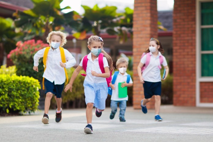 Experts have revealed that kids are less likely to be carriers of the coronavirus