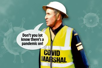 Dad's Army' of busybodies will patrol England to ensure public obey new  coronavirus social-distancing rules