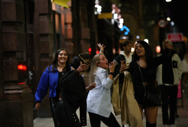 Revellers head out on the town as Manchester resists calls to be moved into Tier 3