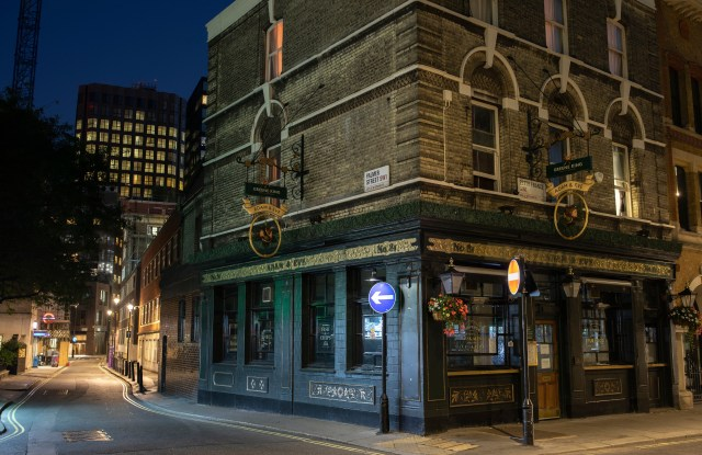 Some pubs, including The Adam and Eve in London, remain closed
