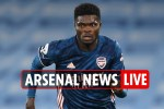 11pm Arsenal news LIVE: Partey booked on debut, Man City defeat at the Etihad, Saliba transfer, Tierney UPDATE