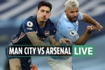 Man City vs Arsenal LIVE: Stream, TV channel, score – Sterling puts City in front after Foden run