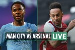 Man City vs Arsenal LIVE: Stream, TV channel, team news, kick-off time for TODAY'S Premier League match