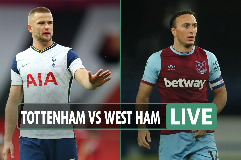 Tottenham vs West Ham LIVE: Stream, TV channel, kick-off time, team news for TODAY'S Premier League game