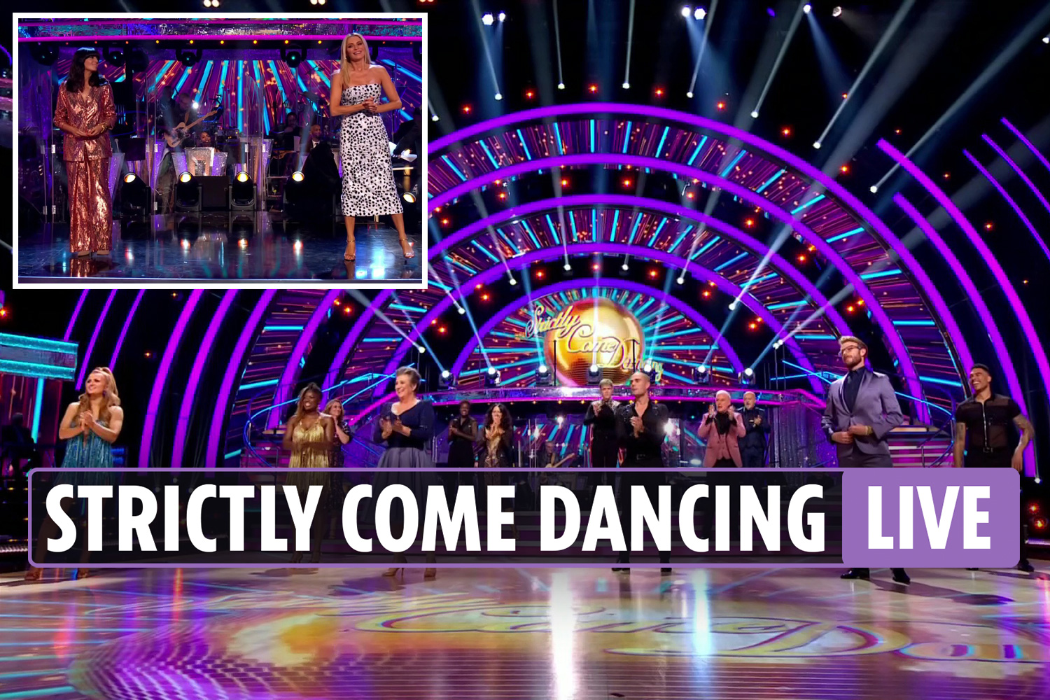 Strictly Come Dancing 2020 launch show LIVE: Fans in hysterics as Jamie Laing and Karen Hauer have matching hairdos