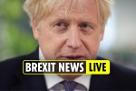 Brexit NO DEAL latest – Boris Johnson tells Brussels trade talks are over as he prepares for No Deal Brexit