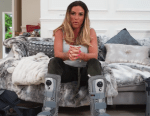 Katie Price faces four-week wait to find out if she can walk on broken feet after fears she'd ruined chance of recovery