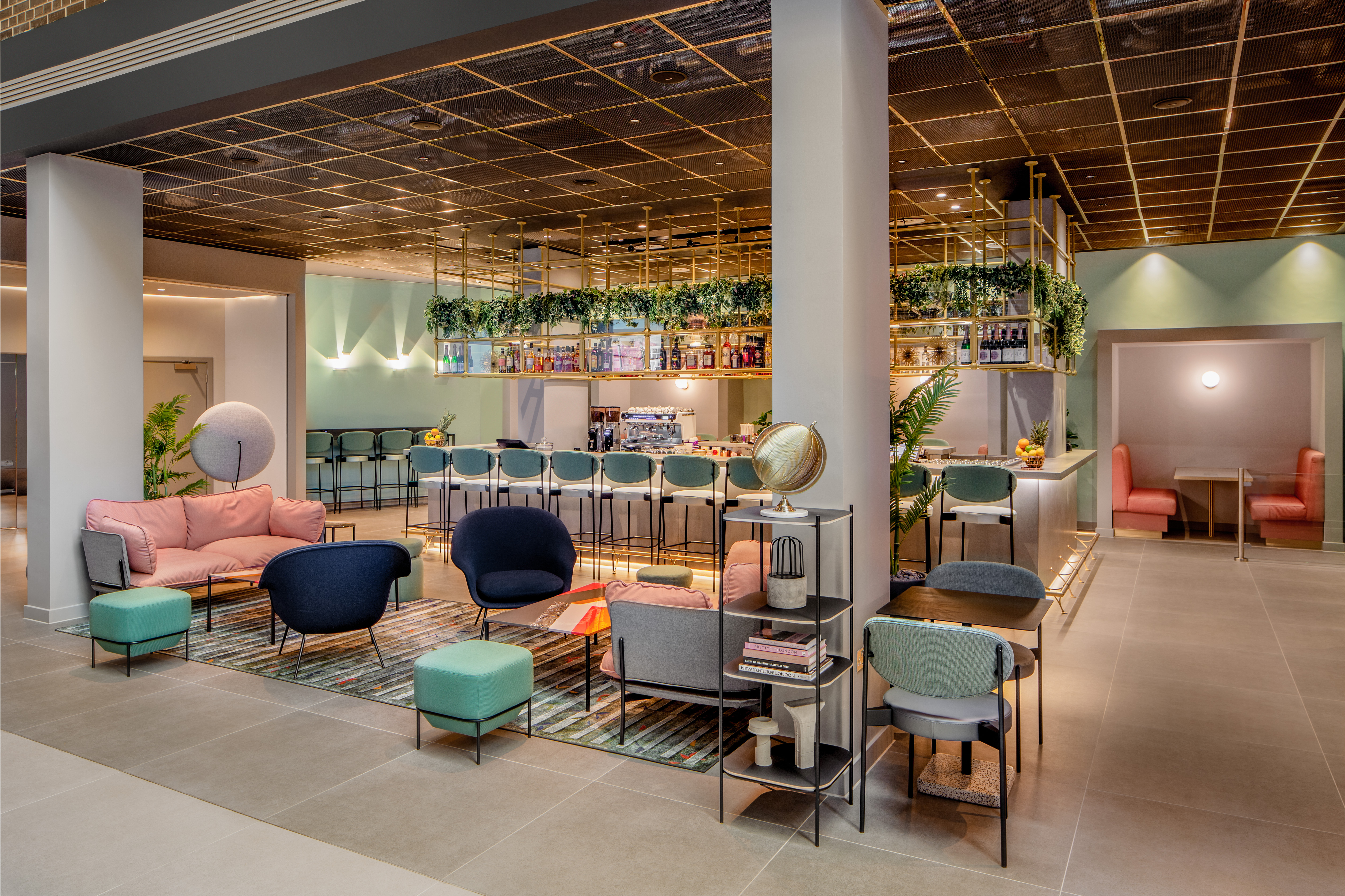 YOTEL's laidback restaurant offers a range of tasty dishes, along with speciality beers and cocktails