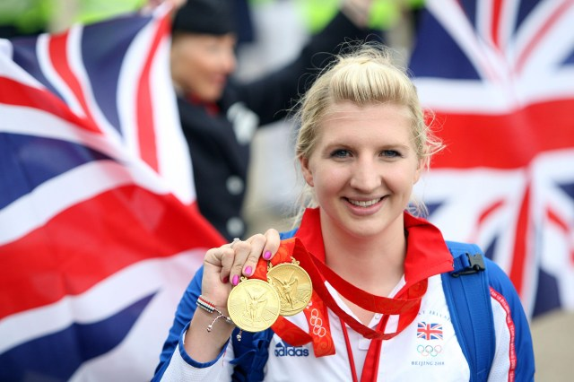Olympic champion Rebecca split up with ex-husband Harry in 2016 after 18 months of marriage