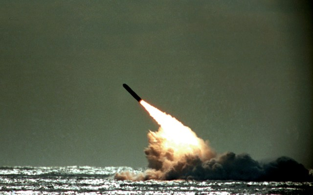 Lt Commander Len Louw tried to take charge of the 16 Trident missiles on board
