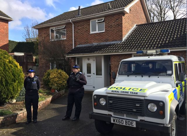 The nerve agent had been administered to the door handle