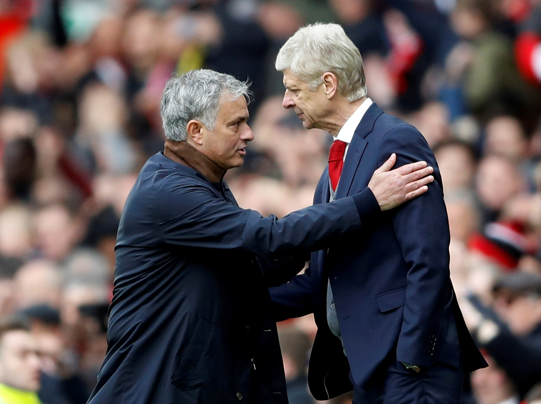 Wenger hits back at Mourinho saying their relationship is 'like Kindergarten' as fallout over book omission continues