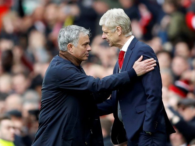 Arsene Wenger said his relationship with Joe Mourinho is 'like Kindergarten'
