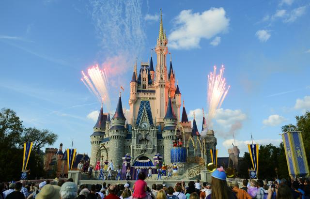 Disney World and Disneyland have flight restrictions, which have been in place since 9/11