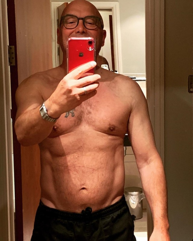 The star has kept fans up-to-date with his fitness journey