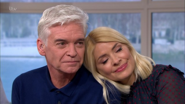 Phil was supported by TV pal Holly Willoughby after coming out on TV and in a Sun on Sunday interview