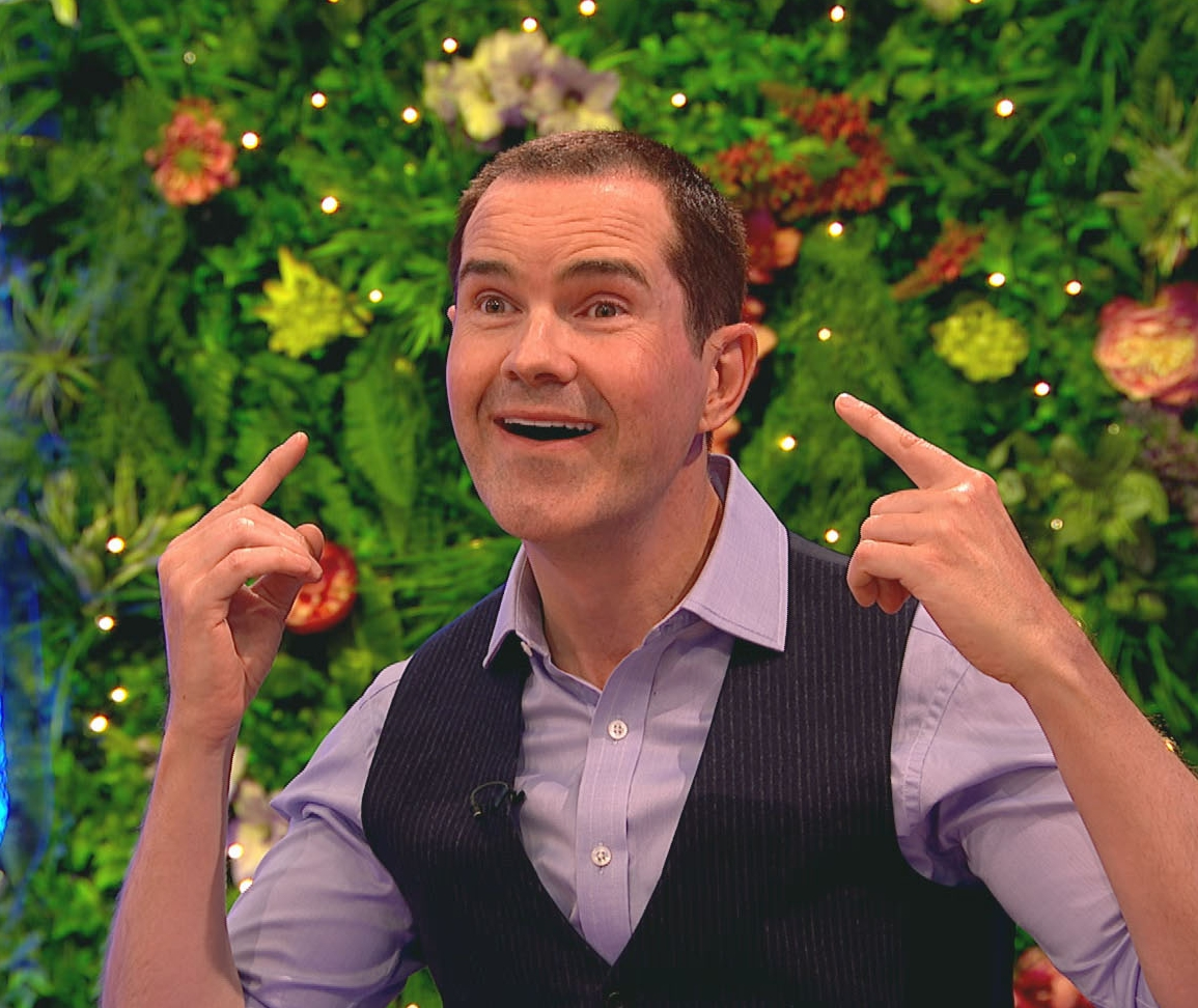 Jimmy Carr reveals dramatic transformation after getting hair transplant, botox and veneers ahead of 50th birthday