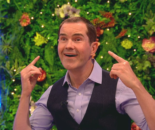 Jimmy Carr, 48, revealed he had botox, veneers and a hair transplant in an attempt to look younger