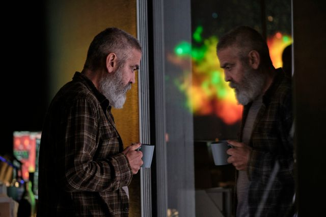 George Clooney as Augustine in his forthcoming film, The Midnight Sky