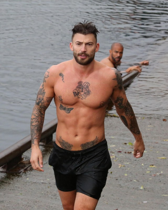 Jake Quickenden had to quit after suffering a serious injury