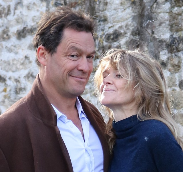 Snogging Lily James showed what a creep married Dominic West is
