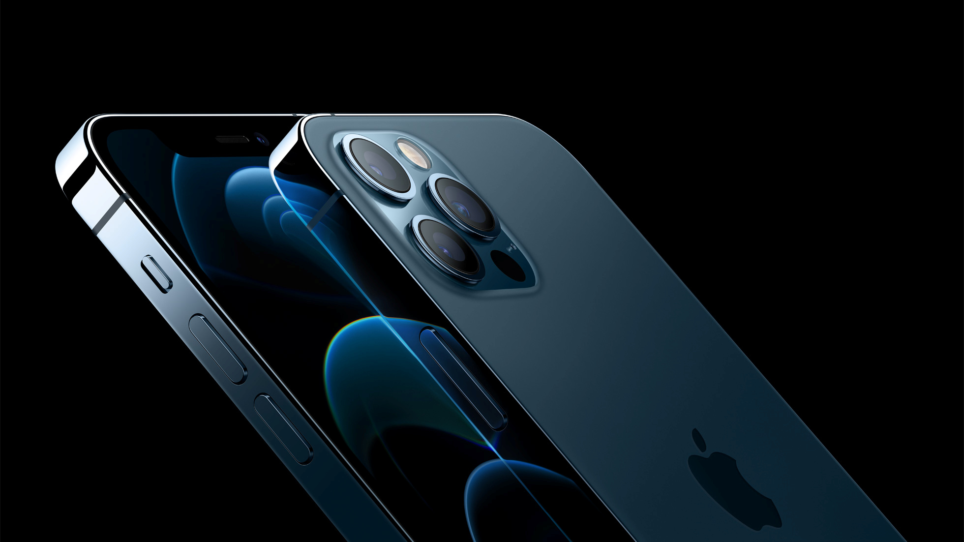The iPhone 12 Pro Max comes with a tasty triple rear camera system
