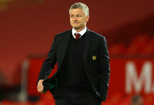 Ole Gunnar Solskjaer is in the firing line at United