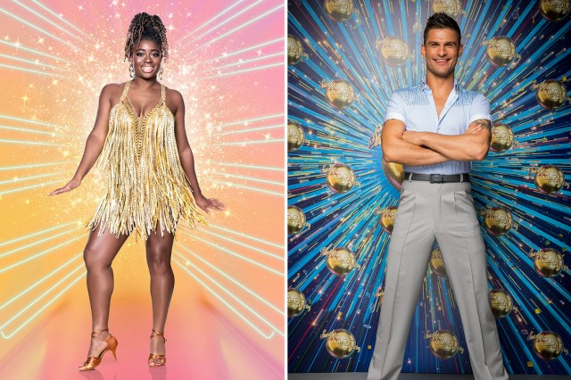 Radio 1 presenter Clara has been paired up with Strictly favourite Aljaž
