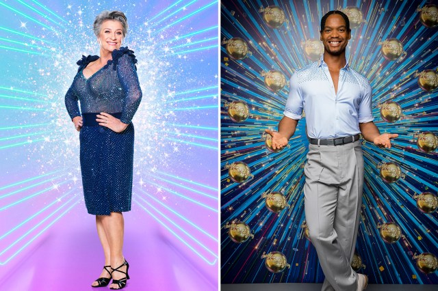 Caroline Quentin has been paired with South African Latin Champion Johannes