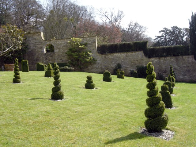 Iford Manor Estate gardens in Wilts were created by renowned Edwardian architect and landscape designer Harold Peto