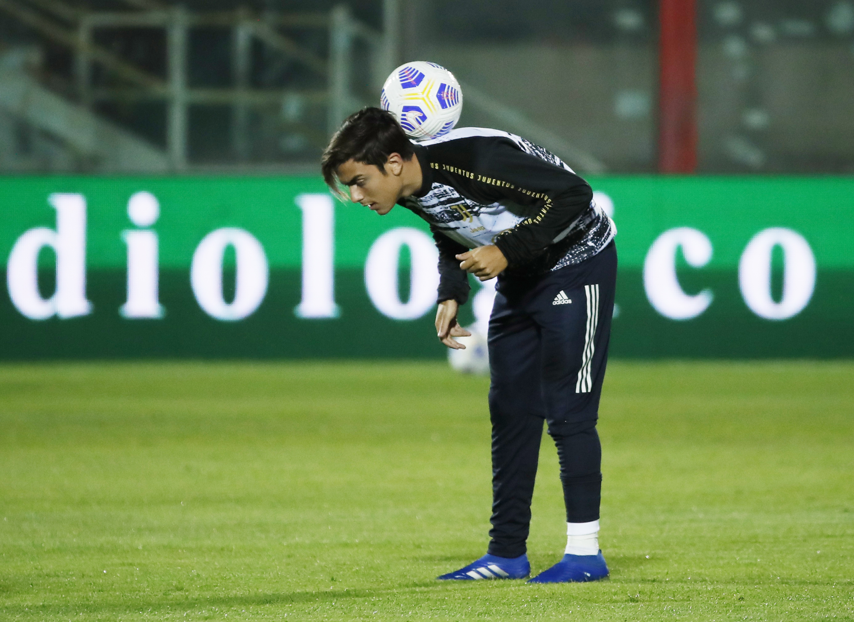 Dybala 'clashes with Juventus chief Paratici in tunnel' after being left on bench again by Pirlo in favour of kids