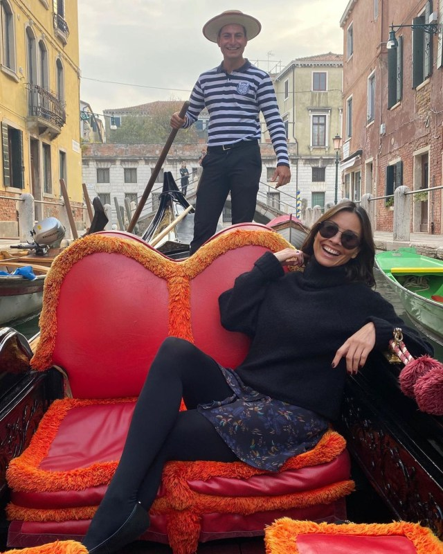 Melanie Sykes, 50, had a fling with gondolier Riccardo Simionato, 23, while on a break in Venice