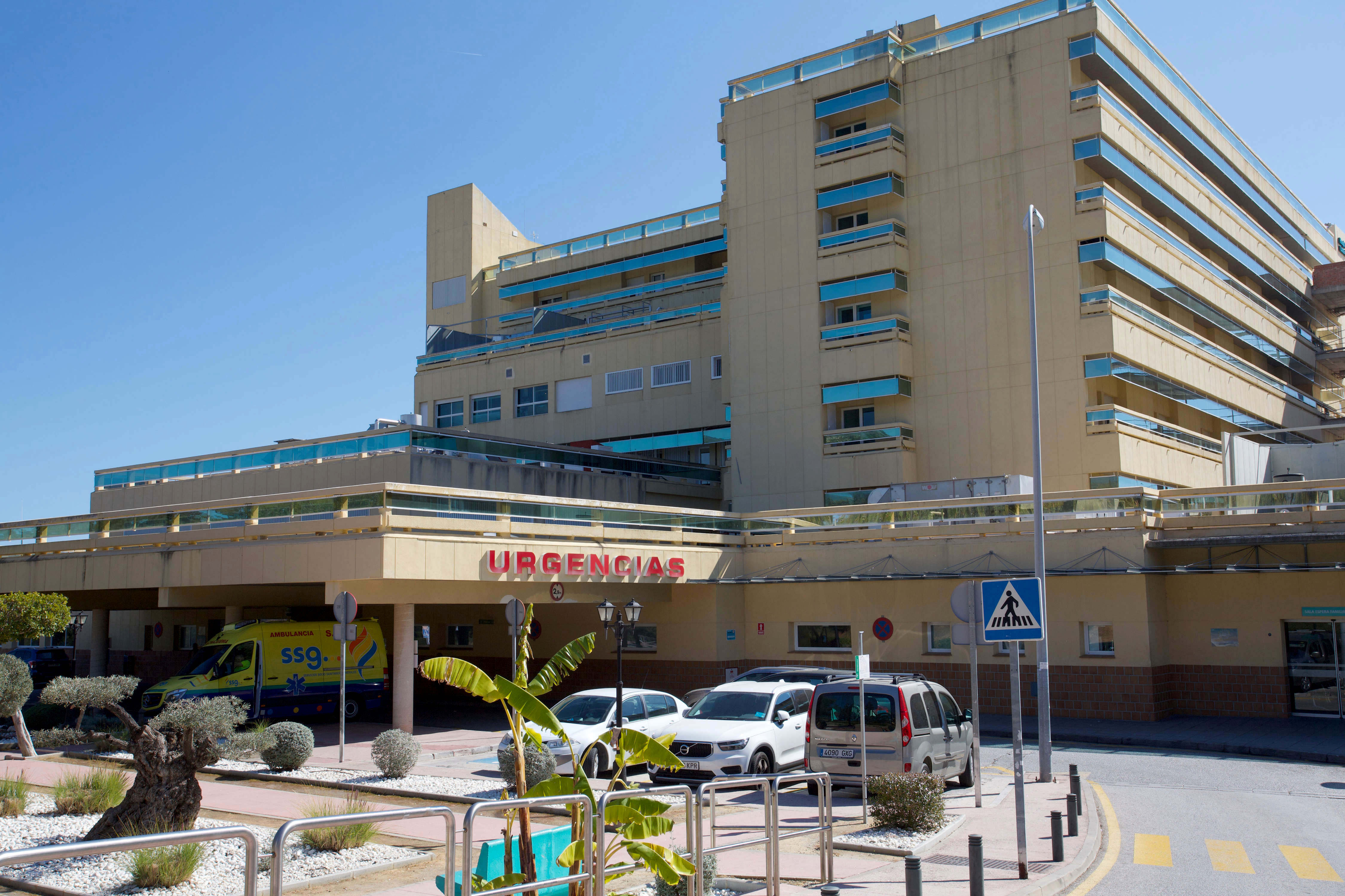 Brit holidaymaker fighting for life after being shot in the face in Marbella